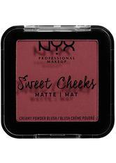NYX Professional Makeup Rouge Sweet Cheeks Creamy Powder Blush Matte Puder 5.0 g