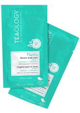 Teaology Reinigung Purity Shower Body Wipe Multipack X 10 - Yoga Care Erfrischungstuch 1.0 pieces