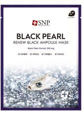SNP Gesichtsmasken Ampoule Mask BLACK PEARL Tuchmaske 25.0 ml