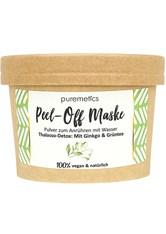 puremetics Produkte Thalasso-Detox: Mit Ginkgo & Grüntee Peel-Off Gesichtsmasken Maske 65.0 g