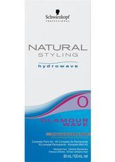 Schwarzkopf Natural Styling Hydrowave Glamour Wave Set 0 - für schwer wellbares, gesundes Haar, 1 Portions-Set