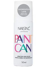 Nails inc - Spray Can Nail Polish – Shoreditch Lane, 50 Ml – Nagellackspray - Silber - one size