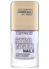 Catrice Stronger Nails Strengthening Nail Lacquer Nagellack  10.5 ml Fierce Lavender
