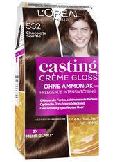 L'Oréal Paris Casting Crème Gloss Glanz-Reflex-Intensivtönung 532 Chocolate Soufflé Coloration 1 Stk.