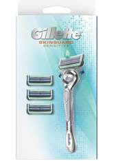 Gillette Starterpacks SkinGuard Sensitive FlexBall-Rasierer für Männer, mit Aloe, - 4 Klingen  1.0 pieces