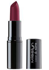Misslyn Lippen Lippenstift Cream to Matte Long-Lasting Lipstick Nr. 239 Rockin' Red 4 g