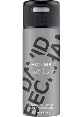 David Beckham Homme Deodorant Body Spray 150 ml Deodorant Spray