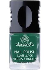 ALESSANDRO - Alessandro Make-up Nagellack Colour Explotion Nagellack Nr. 920 Greenwood 10 ml - NAGELLACK