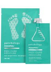 PATCHOLOGY - patchology PP Pedi Cure Feet Single - Feuchtigskeitsspendende Fußmaske 95 ml - FÜßE