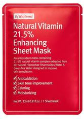 By Wishtrend Gesichtspflege By Wishtrend Natural Vitamin C21,5% Enhancing Sheet Mask - 10x Maske 23.0 ml