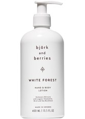 Björk & Berries White Forest Hand & Body Lotion Bodylotion 400.0 ml