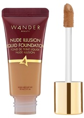 WANDER BEAUTY - Wander Beauty - Nude Illusion Liquid Foundation – Golden Tan – Foundation - Neutral - one size - FOUNDATION