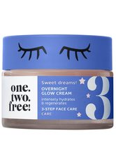 one.two.free! Gesichtscreme Overnight Glow Cream Gesichtscreme 50.0 ml