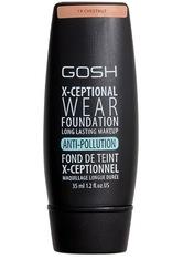 GOSH Copenhagen X-Ceptional Wear Flüssige Foundation  Chestnut