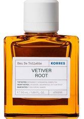 Korres Vetiver Root Eau de Toilette (EdT) 50 ml Parfüm