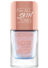 CATRICE - Catrice - Nagellack - More Than Nude Nail Polish - 04 Shimmer Pinky Swear - NAGELLACK