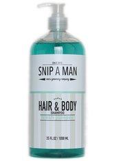 SNIP A MAN Produkte Hair & Body Shampoo fresh juniper Hair & Body Wash 1000.0 ml