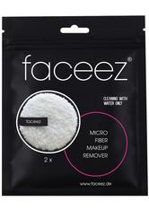 FACEEZ - faceez Pflege Reinigung Mikrofaser Abschminkpad 1 Abschminkpad schwarz + 1 Abschminkpad pink 2 Stk. - CLEANSING