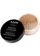 NYX Professional Makeup Mineral Set It & Don't Fret It Loser Puder 8 g Nr. 02 - Medium/Dark