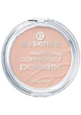 ESSENCE - Essence Teint Puder & Rouge Mattifying Compact Powder Nr. 02 Soft Beige 12 g - Gesichtspuder