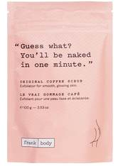 Frank Body Reinigung Original Coffee Scrub Körperpflege 100.0 g