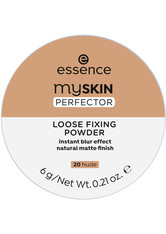 ESSENCE - Essence Puder Essence Puder my Skin Perfector Loose Fixing Powder Puder 6.0 g - Gesichtspuder