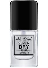 CATRICE - Catrice Nägel Über- & Unterlacke Super Dry Gloss Top Coat 10,50 ml - BASE & TOP COAT