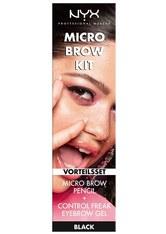 NYX Professional Makeup Augenbrauen Micro Brow Kit Make-up Set 1.0 pieces