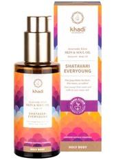 Khadi Naturkosmetik Produkte Holy Body Skin & Soul Oil Körperöl - ShatavariEveryoung100ml Körperöl 100.0 ml