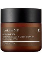 PERRICONE MD - Perricone MD Produkte Neuropeptide Restorative Neck and Chest Therapy, Broad Spectrum SPF 25 Gesichtspflege 59.0 ml - Tagespflege