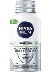 Nivea Pflege Sensitive All-In-One Balsam Gesicht & 3-Tage Bart Gesichtsbalsam 125.0 ml