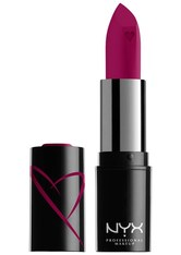 NYX Professional Makeup Shout Loud Satin Lippenstift  3.5 g Nr. 20 - Dirty Talk