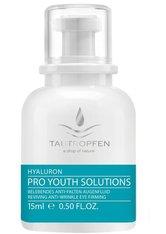 Tautropfen Hyaluron Pro Youth Solutions Belebendes Anti-Falten Augenfluid für müde Augen 15 ml