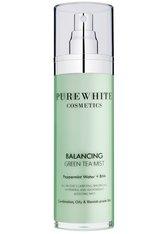 Pure White Cosmetics Gesichtspflege Balancing Green Tea Mist Gesichtswasser 50.0 ml