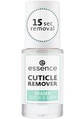 Essence Nagelpflege & Repair Cuticle Remover Eraser Quick + Easy Nagelpflegeset 8.0 ml