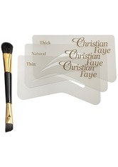 Christian Faye Augenmake-up Brush / Stencil Set Augenbrauenpinsel 1.0 pieces