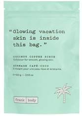 Frank Body Reinigung Coconut Coffee Scrub Körperpeeling 100.0 g