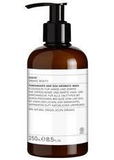 Evolve Organic Beauty Körperpflege Pomergrante & Goji Wash Körperseife 250.0 ml