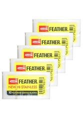 FEATHER - FEATHER Produkte Rasierklingen 5 x 10er Pack Rasierklingen 50.0 st - RASIER TOOLS