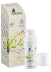 Sativa Produkte Pflegende Gesichtscreme - Normale + Trockene Haut 50ml Gesichtscreme 50.0 ml