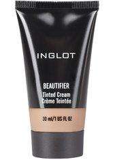 INGLOT Beautifier Tinted Cream Flüssige Foundation  30 ml Nr. 107