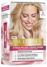 L'Oréal Paris Excellence Crème 9 Hellblond Coloration 1 Stk. Haarfarbe