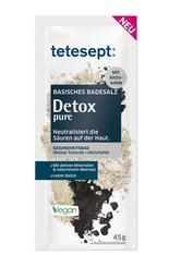 Tetesept Produkte tetesept Basisches Badesalz Detox pure,45g Badesalz 45.0 g