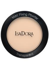 IsaDora Matt Fixing Blotting Powder 9g SHEER NUDE