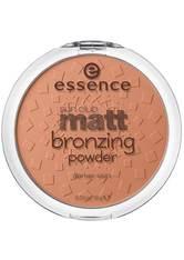 ESSENCE - Essence Rouge / Highlighter Essence Rouge / Highlighter Sun Club Matt Bronzing Powder Puder 15.0 g - Contouring & Bronzing