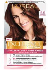 L'Oréal Paris Excellence Crème 5.5 Schokobraun Coloration 1 Stk. Haarfarbe