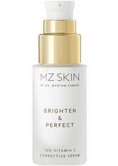 MZ SKIN - MZ SKIN Brighten & Perfect 10% Vitamin C Corrective Serum Gesichtsserum  143 g - SERUM
