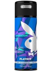 Playboy Generation Deo Aerosol Generation Deodorant Spray 150.0 ml