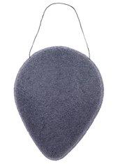 INVOGUE Produkte Brushworks - Konjac Sponge - Black Charcoal Schwamm 1.0 pieces
