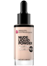 HYPOALLERGENIC - Bell Hypo Allergenic Foundation Bell Hypo Allergenic Foundation Nude Liquid Powder Foundation 25.0 g - Foundation